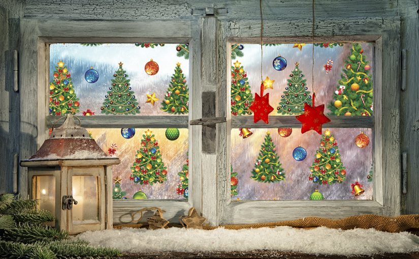 New Seasonal Holiday Themed Window Films