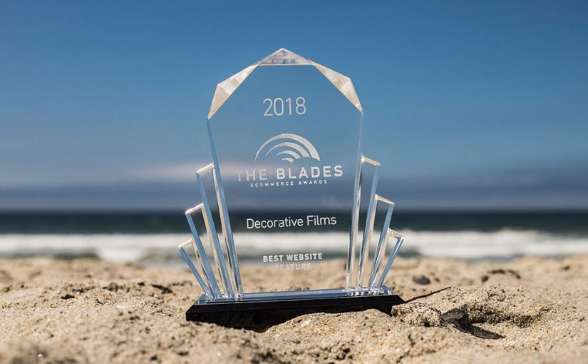 Decorative Films Receives Blade E-commerce Award for Best Website Feature