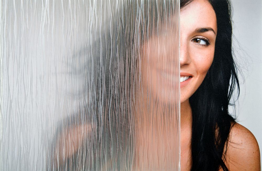 SX-9000 Clear Waters Rain Glass Window Film
