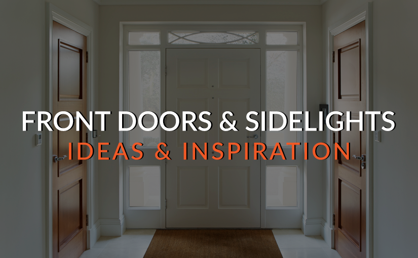Get Inspired Now! With Decorative Privacy Films for Front Doors and Sidelights