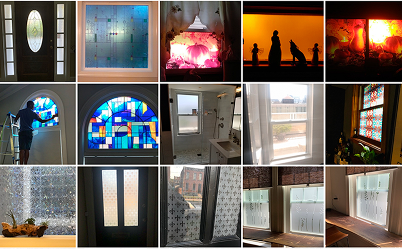 See all of the Creative Ways our Decorative Films Community have used our Decorative Privacy Films