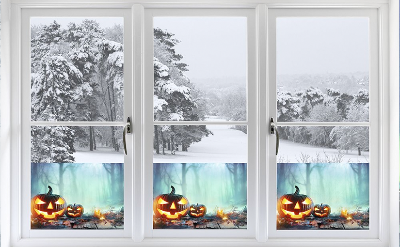 Decorate Your Home for Halloween with our Holiday Themed Window Films