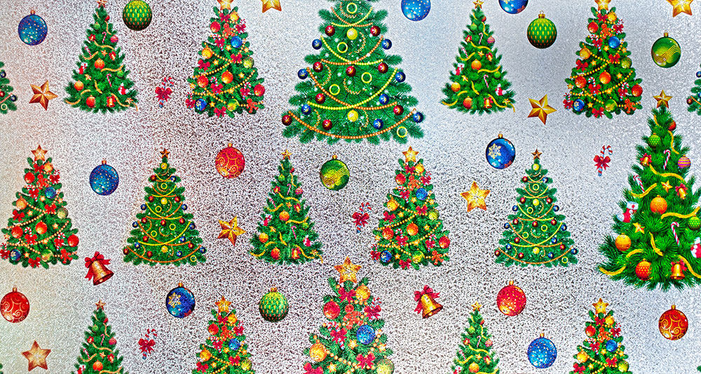 decorate your windows this holiday season with this beautifully designed non adhesive static cling window film after the holidays this film can be peeled - Christmas Decorative Window Film