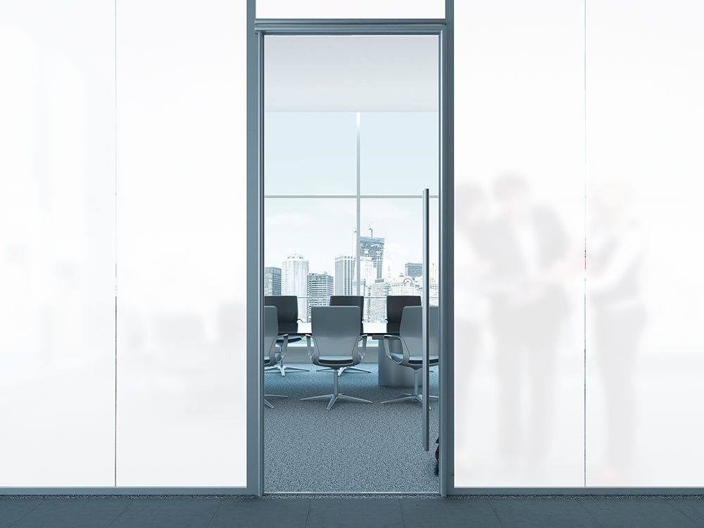 White Frost Privacy window film Made in usa   24 inch x 20 ft